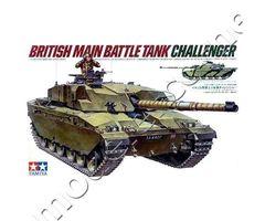 British Main Battle Tank CHALLENGER