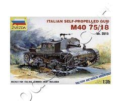 M40/M42 Italian75 mm self-propelled guns