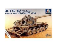 M-110 A2 (203mm) Heavy Self Propelled Gun