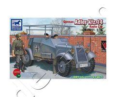 German Adler Kfz.14 Radio Armored Car