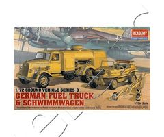 German Fuel Truck & Schwimmwagen