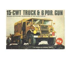 15-CWT Truck & 6 Pdr. Gun