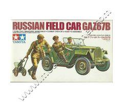 Russian Field Car GAZ67B
