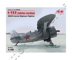 I-153 (Winter Version) WWII Soviet Biplane Fighter