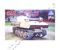 RSO with PAK 40 German S.P. Anti Tank Gun