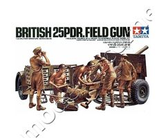 British 25 PDR. Field Gun