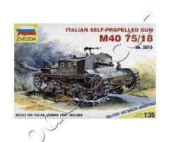M40/M42 Italian75 mm self-propelled guns
