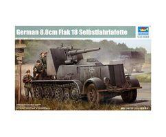 German 8.8cm Flak 18 Selbstfahrlafette