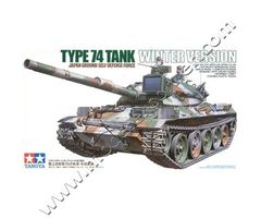 TYPE 74 Tank Winter Version