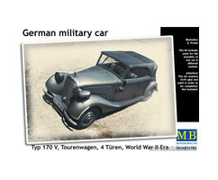 German Military Car Type 170V