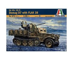 Demag D7 with FLAK 38
