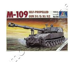 Self-Propelled M109A1 / M109A2 / M109E4 / M109G