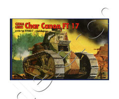 Light Tank Char Canon FT 17