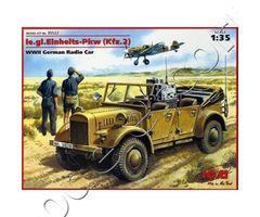 le.gl.Einheits-Pkw (Kfz.2) WWII German Radio Car