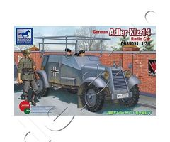 German Adler Kfz.14 Radio Armored Car