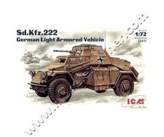 Sd.Kfz.222 German Light Armoured Vehicle