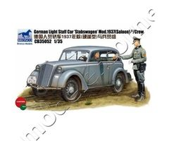 German light staff car STABSWAGEN mod.1937 w/Crew