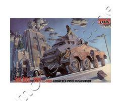Sd.Kfz.231 (8-Rad) Schwerer Panzerspähwagen