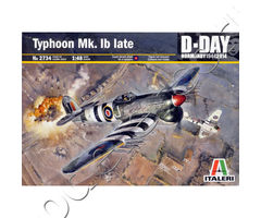 Typhoon Mk.Ib late D-Day Normandy 1944 2014