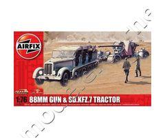 88MM GUN & Sd.Kfz.7 Tractor