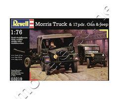 Morris Truck & 17pdr. Gun & Jeep