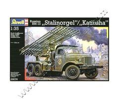 Russian BM-13 'Stalinorgel' / 'Katiusha'