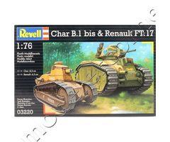 Char B1bis & Renault FT17
