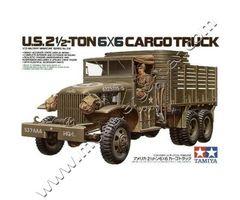 U.S. 2,5 Ton 6X6 Cargo Truck