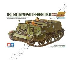 British Universal Carrier Mk.II Forced Reconnaissance