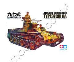 Japanese Medium Tank Type 97 Chi-Ha