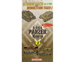Panzer Korps No 1 Sturmtiger + Demolition Tiger 1