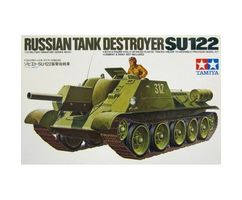 SU-122 Russian Tank Destroyer