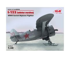 I-153 (Winter Version) WWII Soviet Biplane Fighter