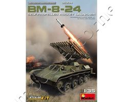 BM-8-24 Self-Propelled Rocket Launcher with Interior Kit