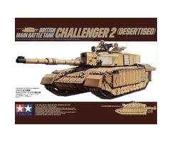 British Main Battle Tank Challenger 2 (desertised)