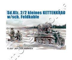 Sd.Kfz.2/2 kleines Kettenkrad w/sch. Feldkable
