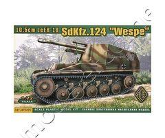 """10,5cm LeFH-18 Sd.Kfz. 124 """"Wespe"""""""