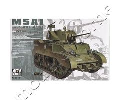 M5A1 Stuart Light Tank Late Type