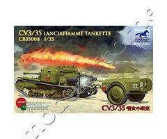 CV3/35 Lanciafiamme tankette