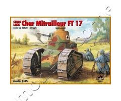 Light Tank Char Mitrailleur FT17