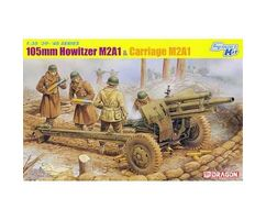 105mm Howitzer M2A1 & Carriage M2A1