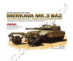 Israel Main Battle Tank Merkava Mk.3 BAZ w/Nochrich Dalet Mine Roller System