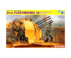 2cm Flakvierling 38 Late Production w/crew