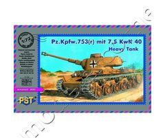Pz.Kpfw. 753(r) mit 7,5 KwK 40 Heavy Tank