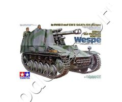 German self-propelled howtitzer Wespe