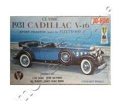 1931 Cadillac V-16 Sport Phaeton body by Fleetwood