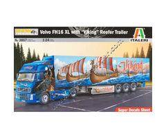 Volvo FH16 XL 'Viking' with Reefer Trailer