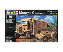 Monty's Caravan Leyland Retriever & Scout Car