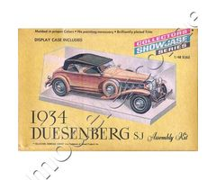 1934 Duesenberg SJ Collectors Showcase Series
