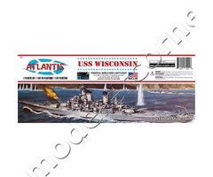 USS Wisconsin BB-64 Iowa Class Battleship